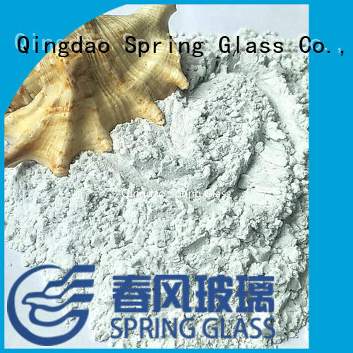 Spring Glass latest glass powder factory for paving