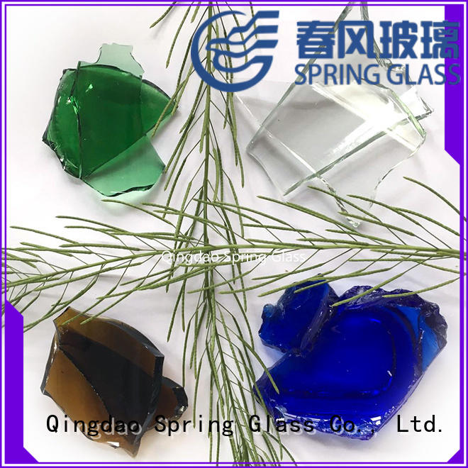 Spring Glass glass cullet manufacturers supplier for fire pit