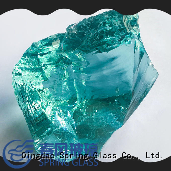 Normal white glass rocks