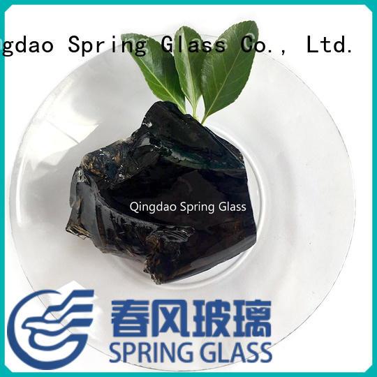 glass rocks for decoration Spring Glass