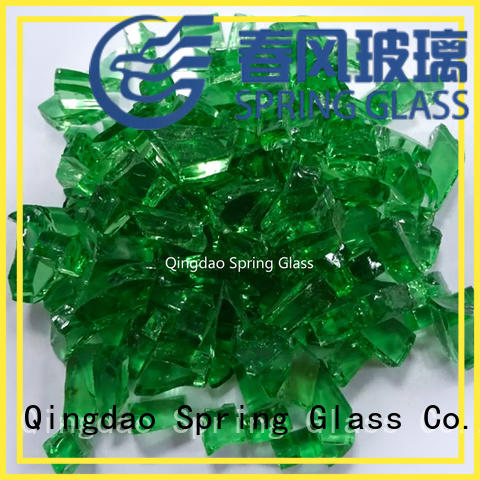 glass cullet high quality for water filtration Spring Glass