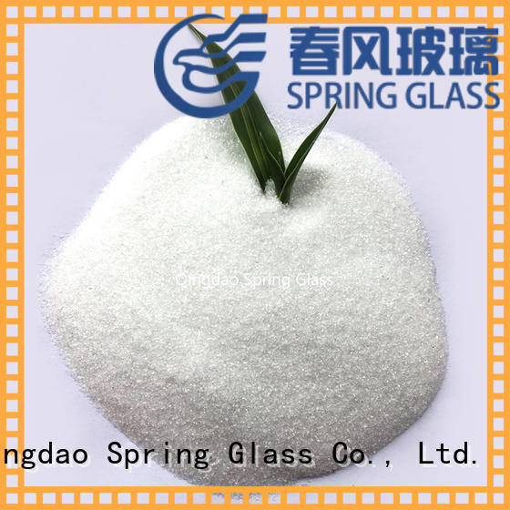 Spring Glass normal crushed glass powder manufacturer for industry