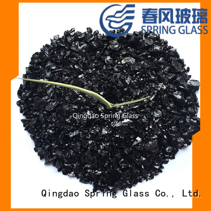 good selling recycled crushed glass company for decoration