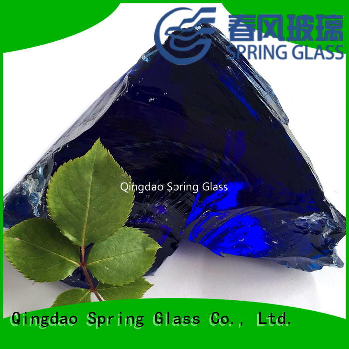 top glass rocks factory for decoration