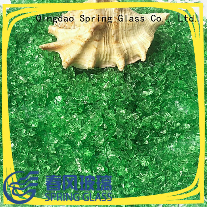 Spring Glass new crushed glass company for decoration