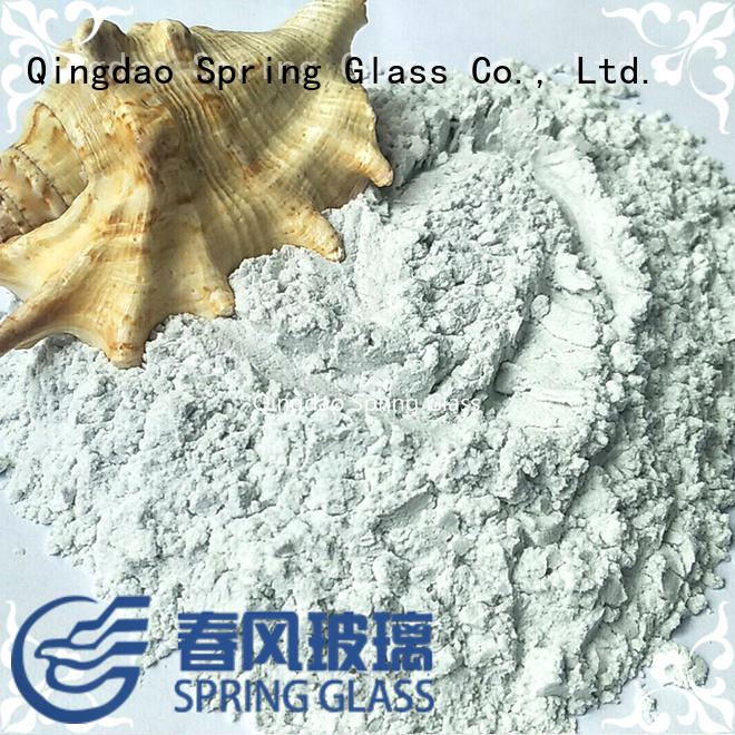 Spring Glass new crushed glass powder wholesale for industry