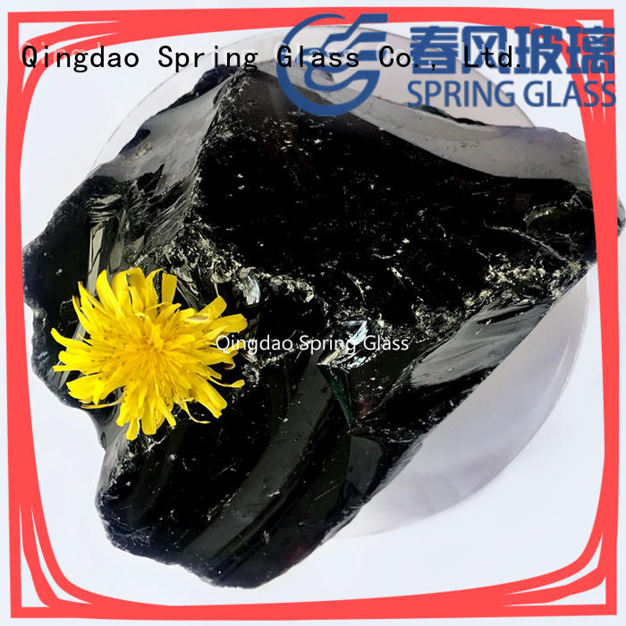 Spring Glass landscaping glass rocks company for garden
