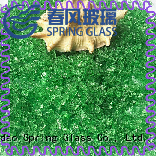 Spring Glass good selling decorative crushed glass supplier for sale