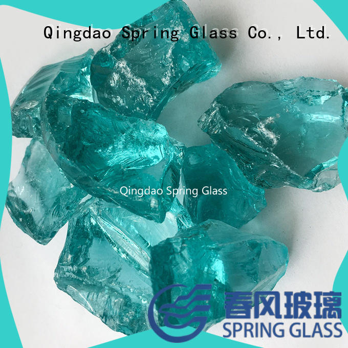 crushed glass for floor Spring Glass