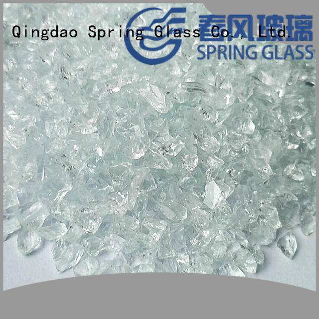 normal recycled crushed glass manufacturer for decoration