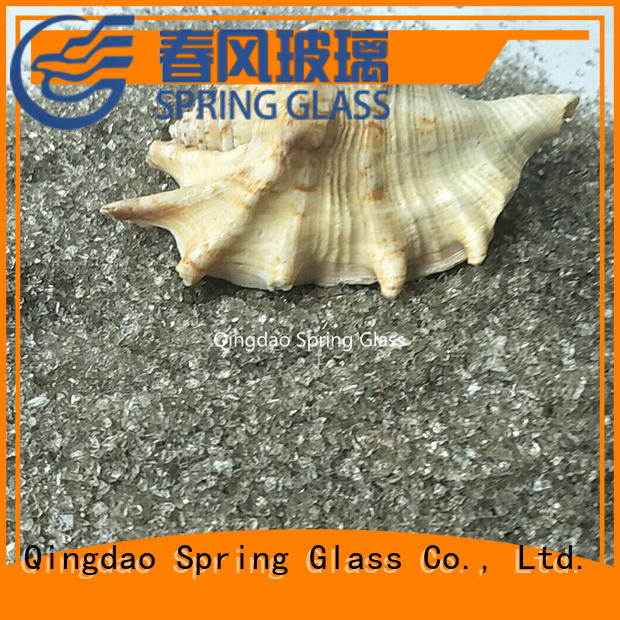 Spring Glass wholesale recycled crushed glass supplier for floor