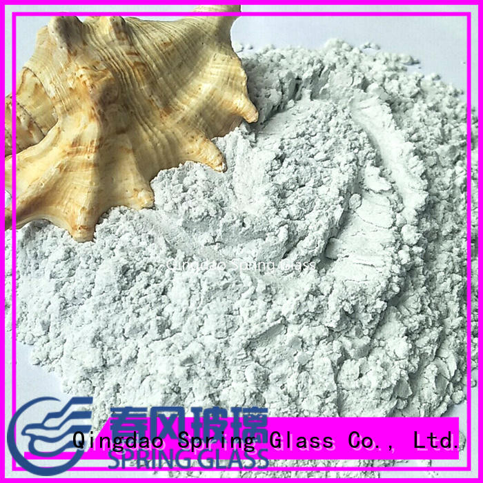 crushed glass powder supplier for wall Spring Glass