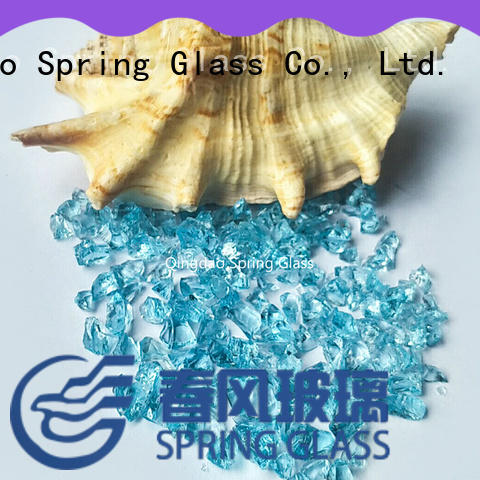 good selling recycled crushed glass supplier for sale Spring Glass