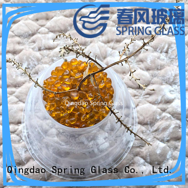 Spring Glass good selling coloured glass beads for decoration