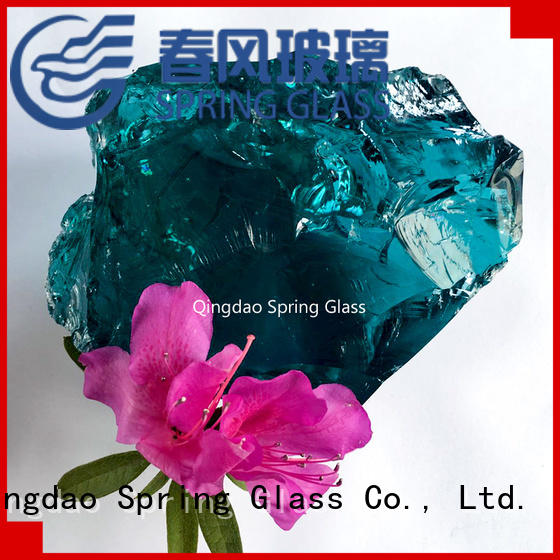 european fire glass rocks supplier for square