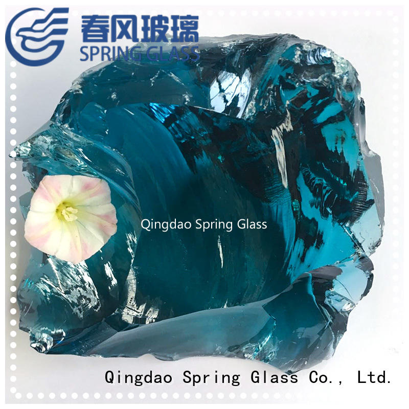 landscaping fire glass rocks supplier for home