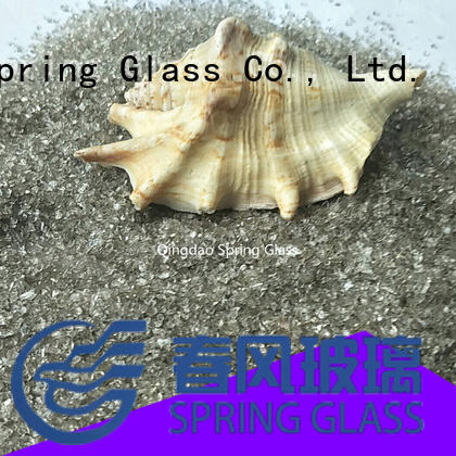 superior quality silver crushed glass wholesale for decoration Spring Glass