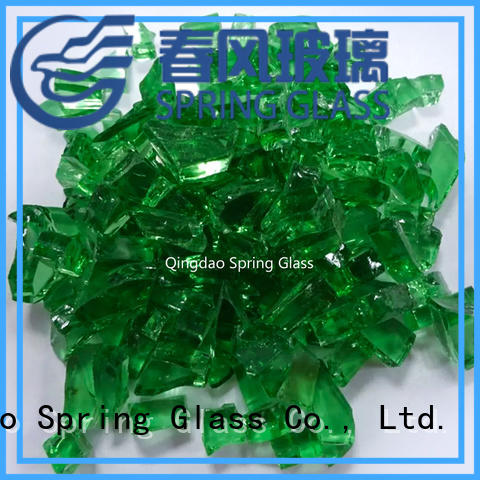 Spring Glass high quality cullet supplier for fire pit