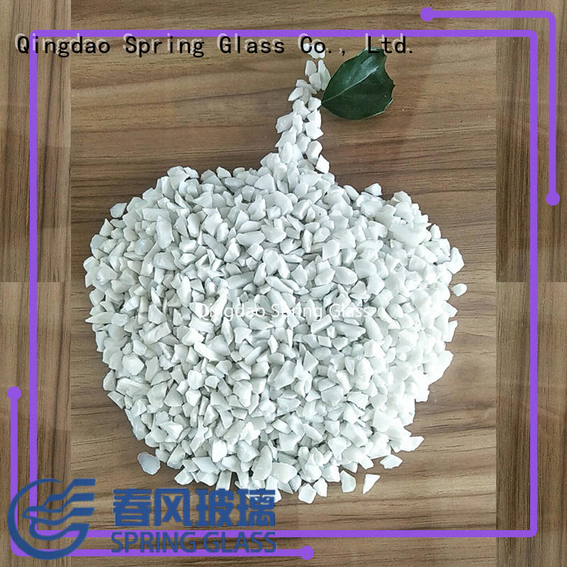 high quality crushed glass for busniess for decoration