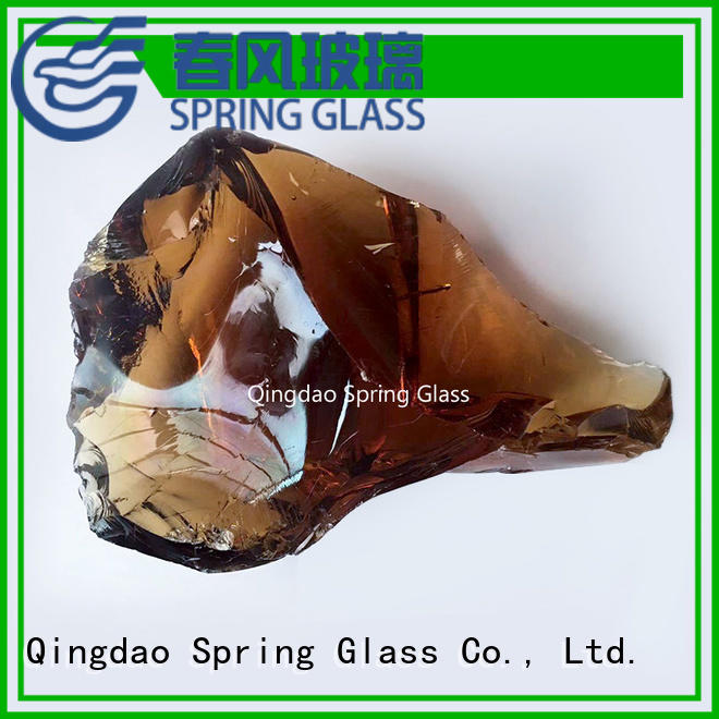 colorful fire glass rocks for fireplace supplier for square
