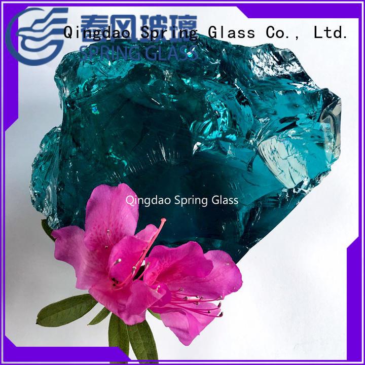 landscaping glass rocks manufacturer for home Spring Glass