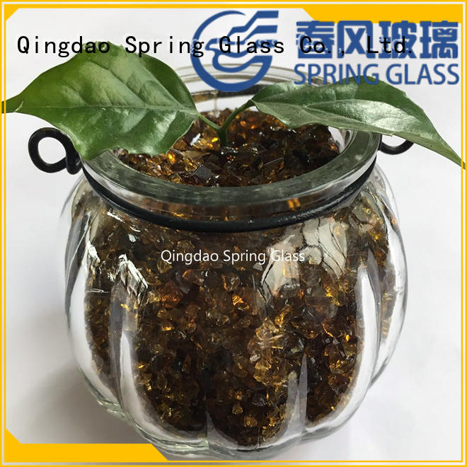 Spring Glass new crushed glass for busniess for sale