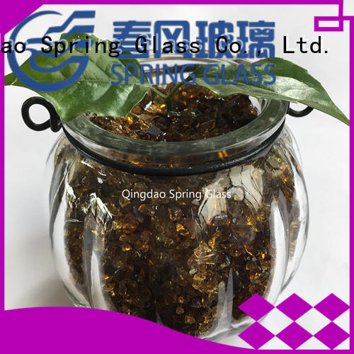 Spring Glass crushed glass wholesale for kitchen