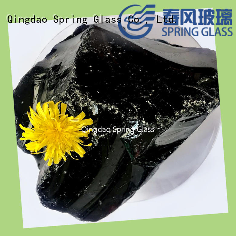 Spring Glass landscaping glass rocks company for home