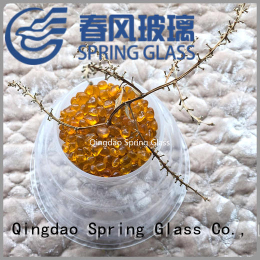Spring Glass glass gravel factory for square