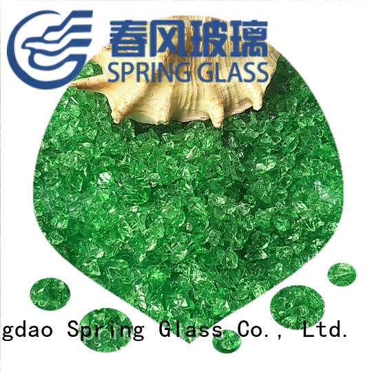 recycled crushed glass supplier for kitchen Spring Glass