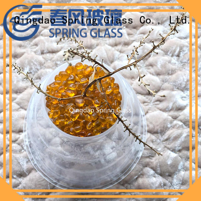 Spring Glass best glass pebble manufacturer for home