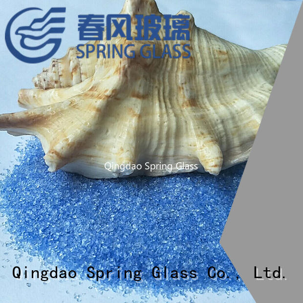 Spring Glass best decorative crushed glass factory for decoration