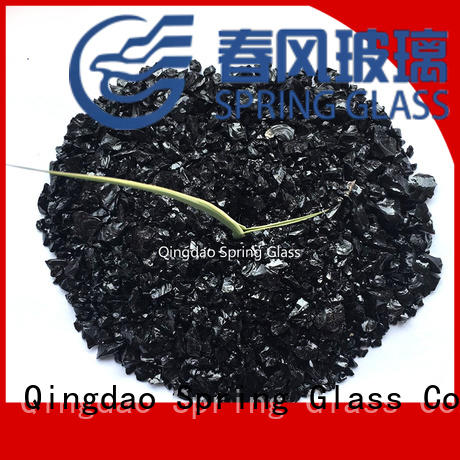red recycled crushed glass manufacturer for floor