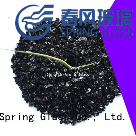 Spring Glass crushed glass supplier for floor