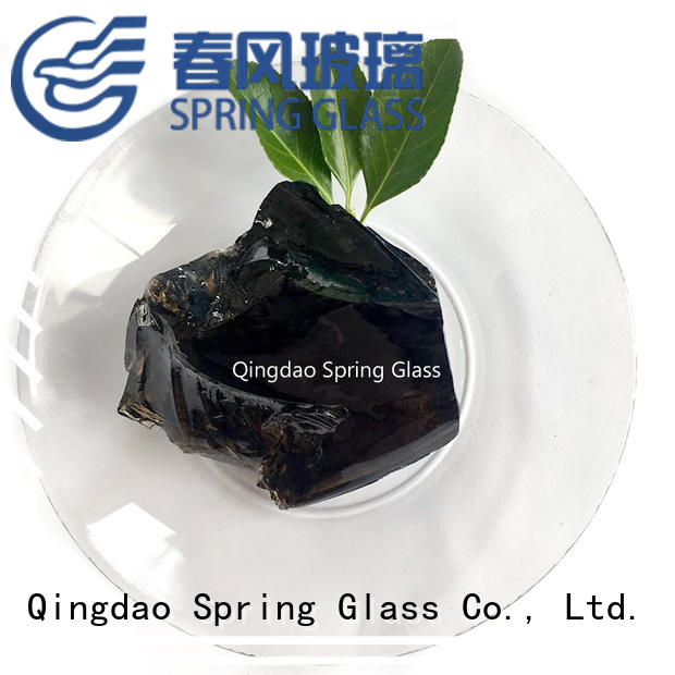 large colored glass rocks beautiful for square Spring Glass