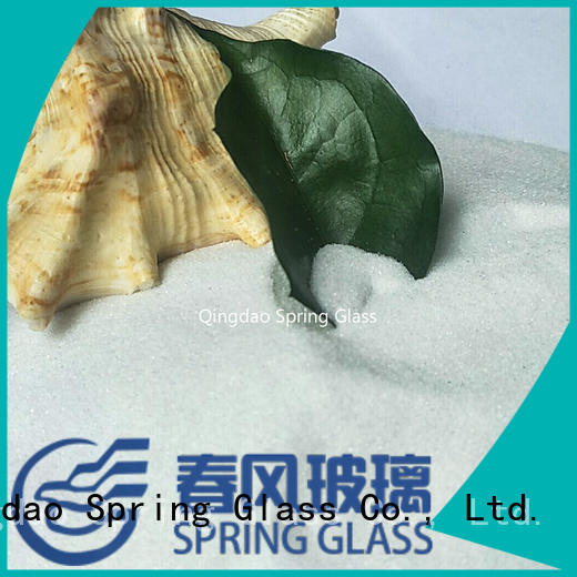 Spring Glass recycled crushed glass manufacturer for kitchen