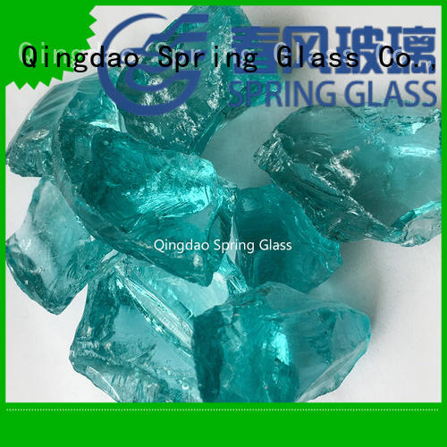 recycled crushed glass good selling for floor Spring Glass