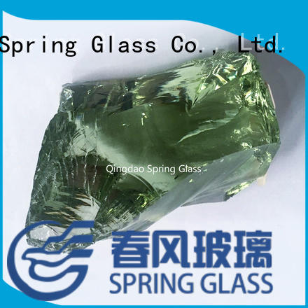 landscaping glass rocks supplier for garden Spring Glass