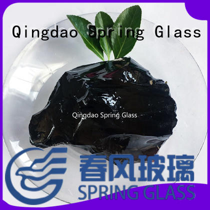 Spring Glass wholesale glass rocks manufacturer for decoration