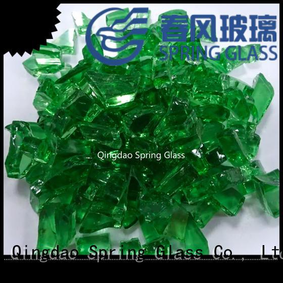 Spring Glass hot sale glass cullet manufacturer for fire bottle