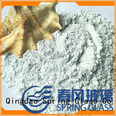 high quality glass powder factory for wall