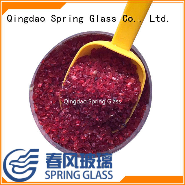 superior quality crushed glass company for decoration