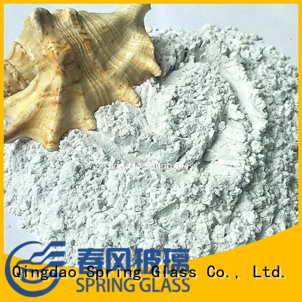 Super white glass powder