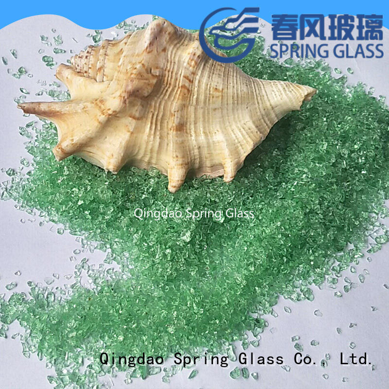 light crushed glass for landscaping supplier for decoration