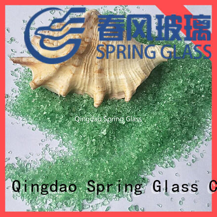 Spring Glass recycled crushed glass manufacturer for floor