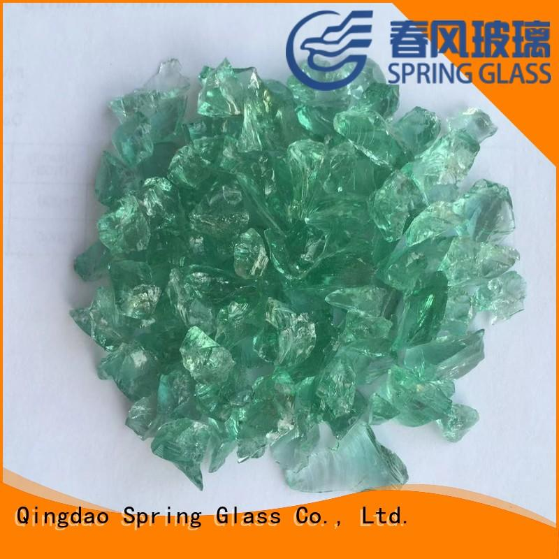 Spring Glass recycled crushed glass manufacturer for sale