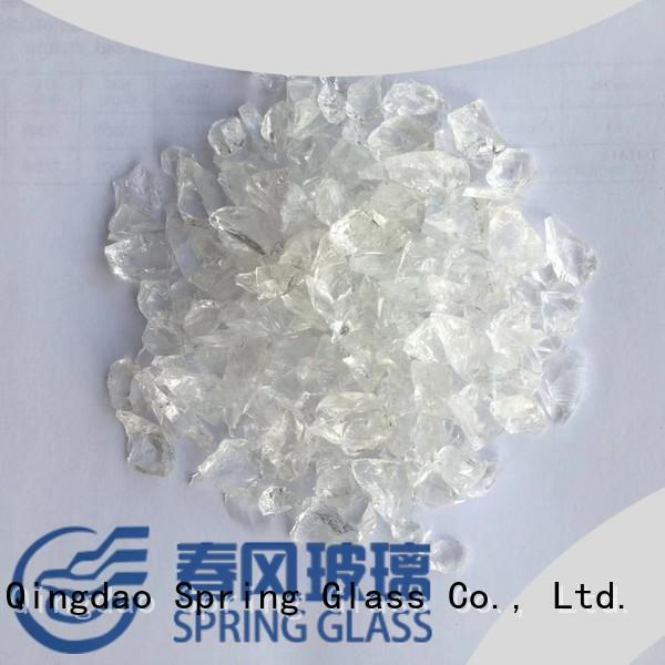 Spring Glass normal recycled crushed glass manufacturer for kitchen
