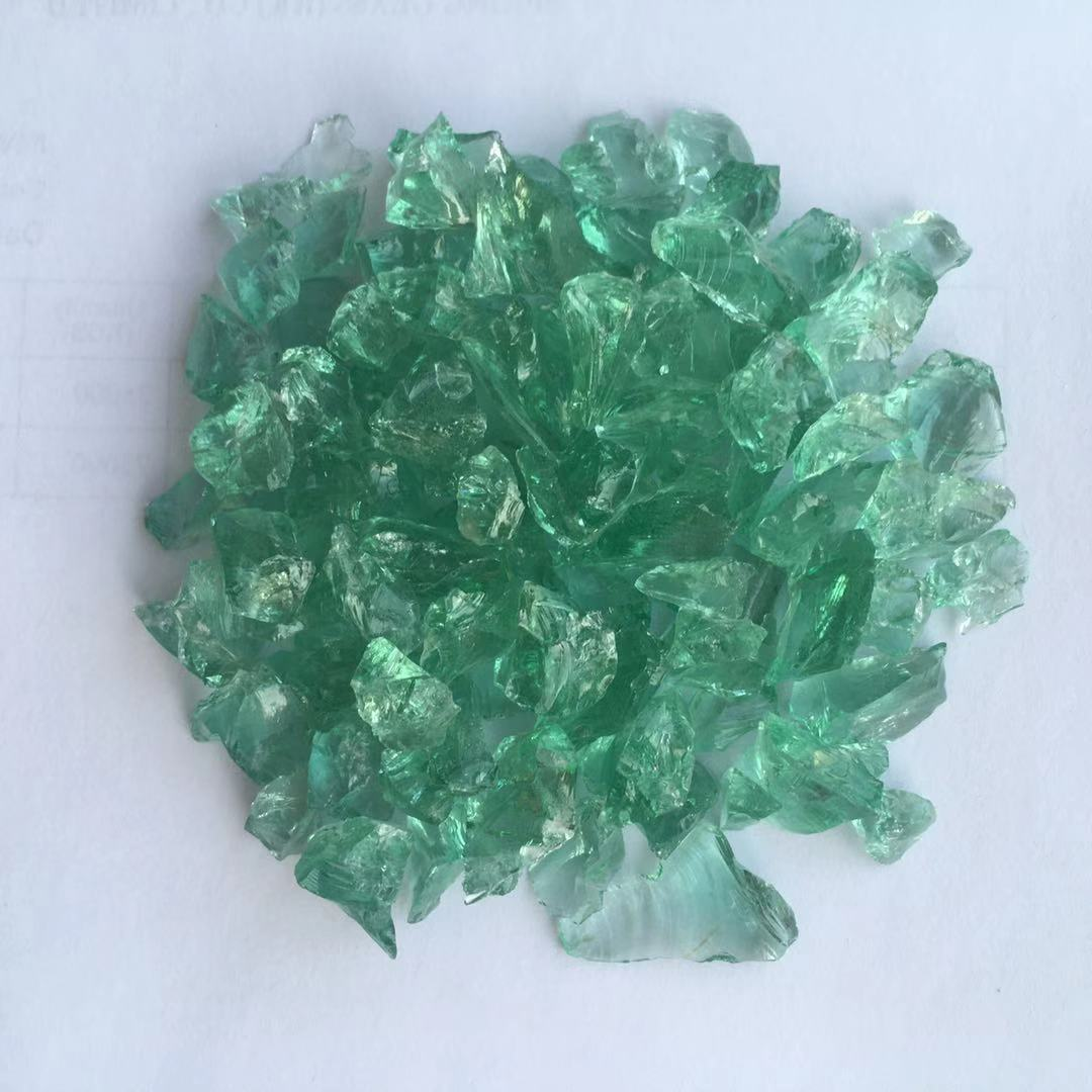 Spring Glass light decorative crushed glass for busniess for decoration-1