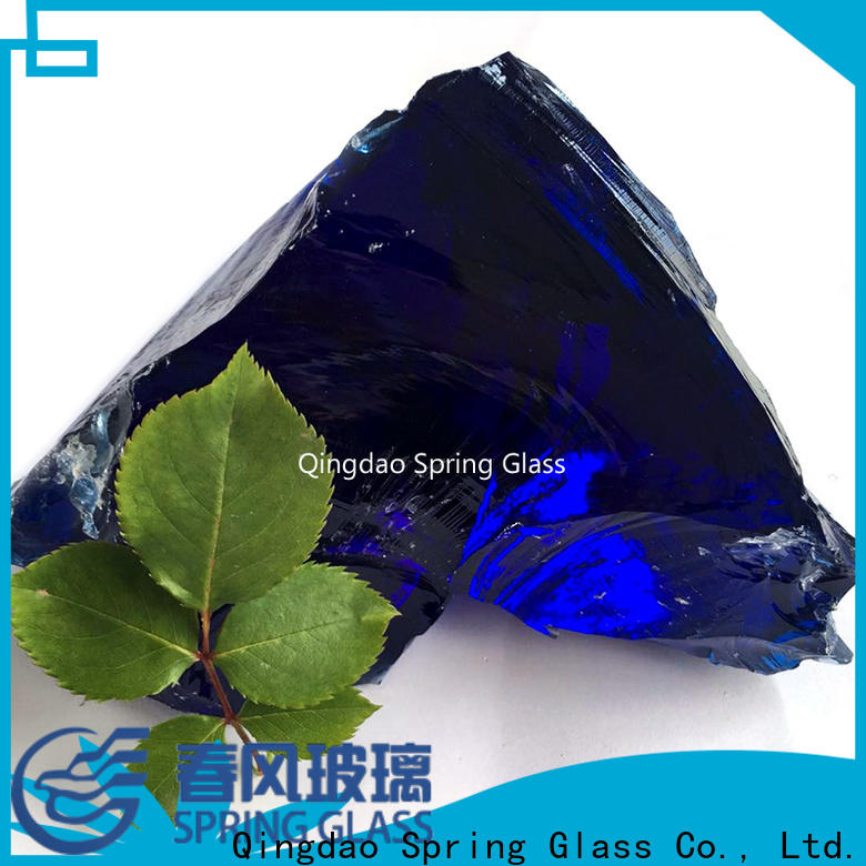 Spring Glass wholesale landscaping glass rocks factory for home