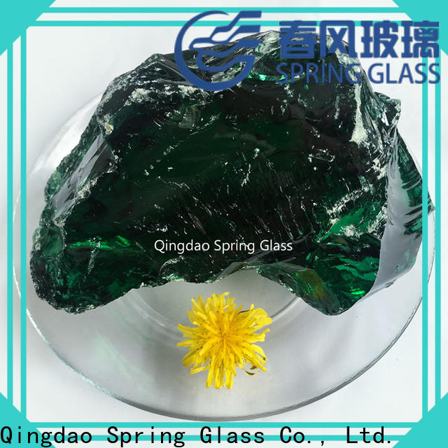 fire glass rocks supplier for square